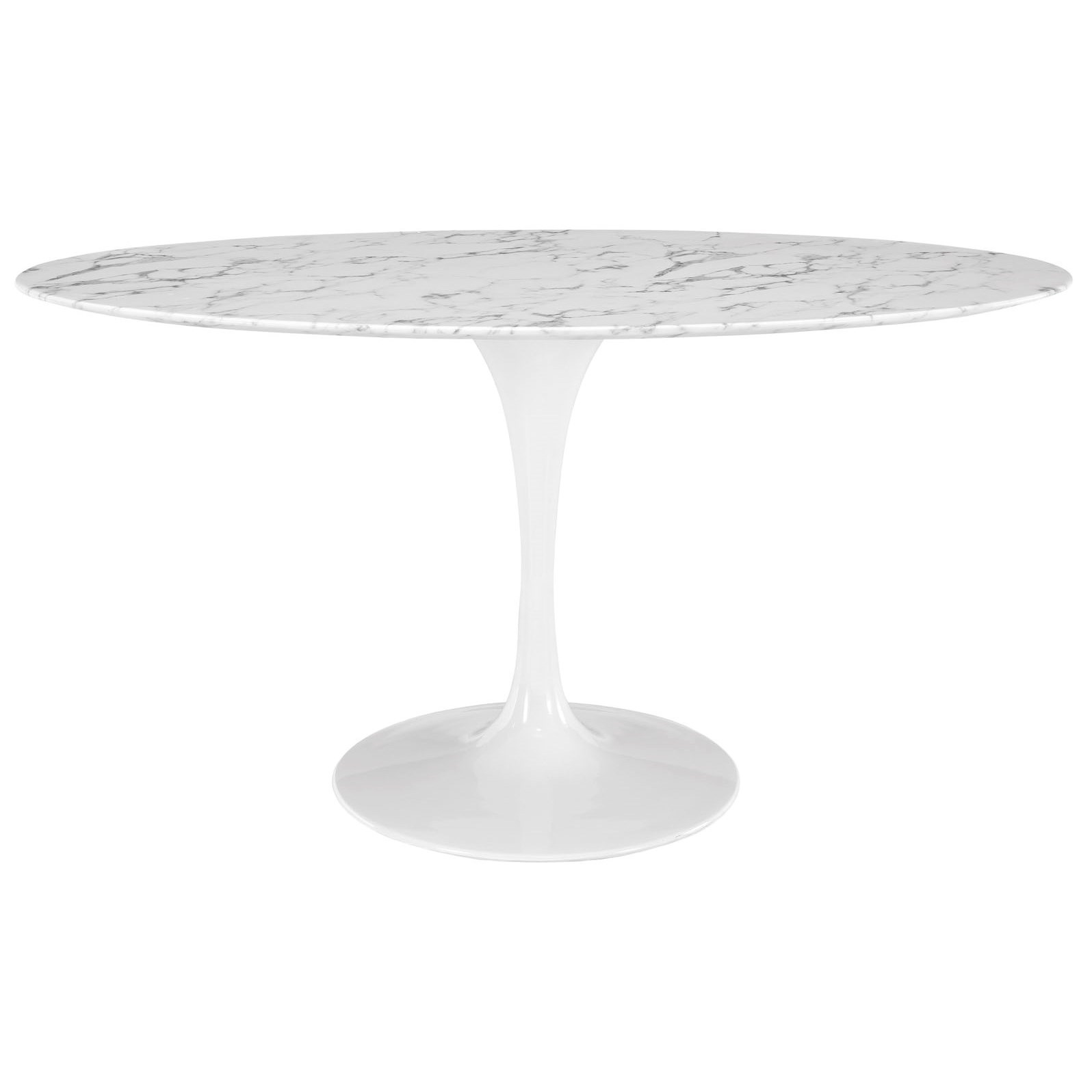 Lippa Marble Oval Dining Table by Modway at Value City Furniture