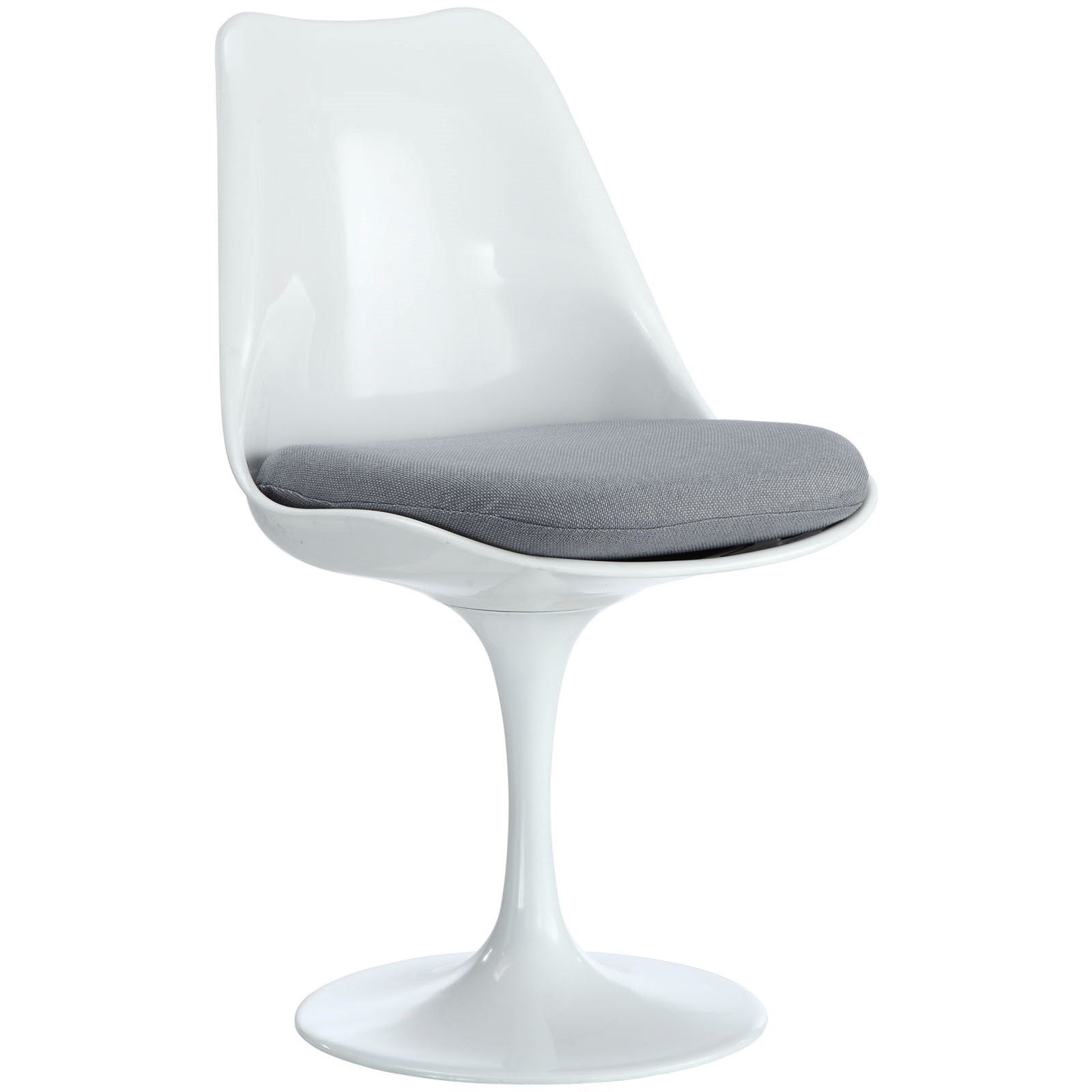 Lippa White Fabric Side Chair by Modway at Value City Furniture