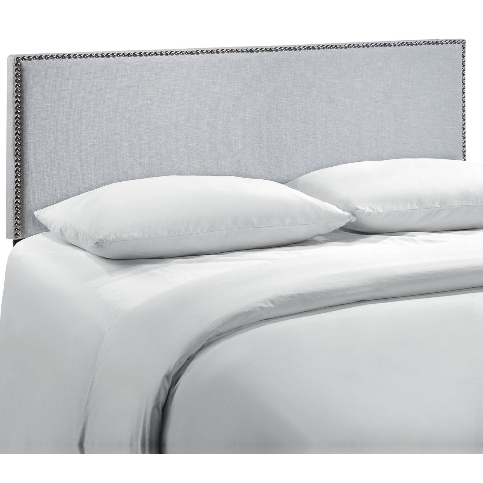 Region Queen Nailhead Upholstered Headboard by Modway at Value City Furniture
