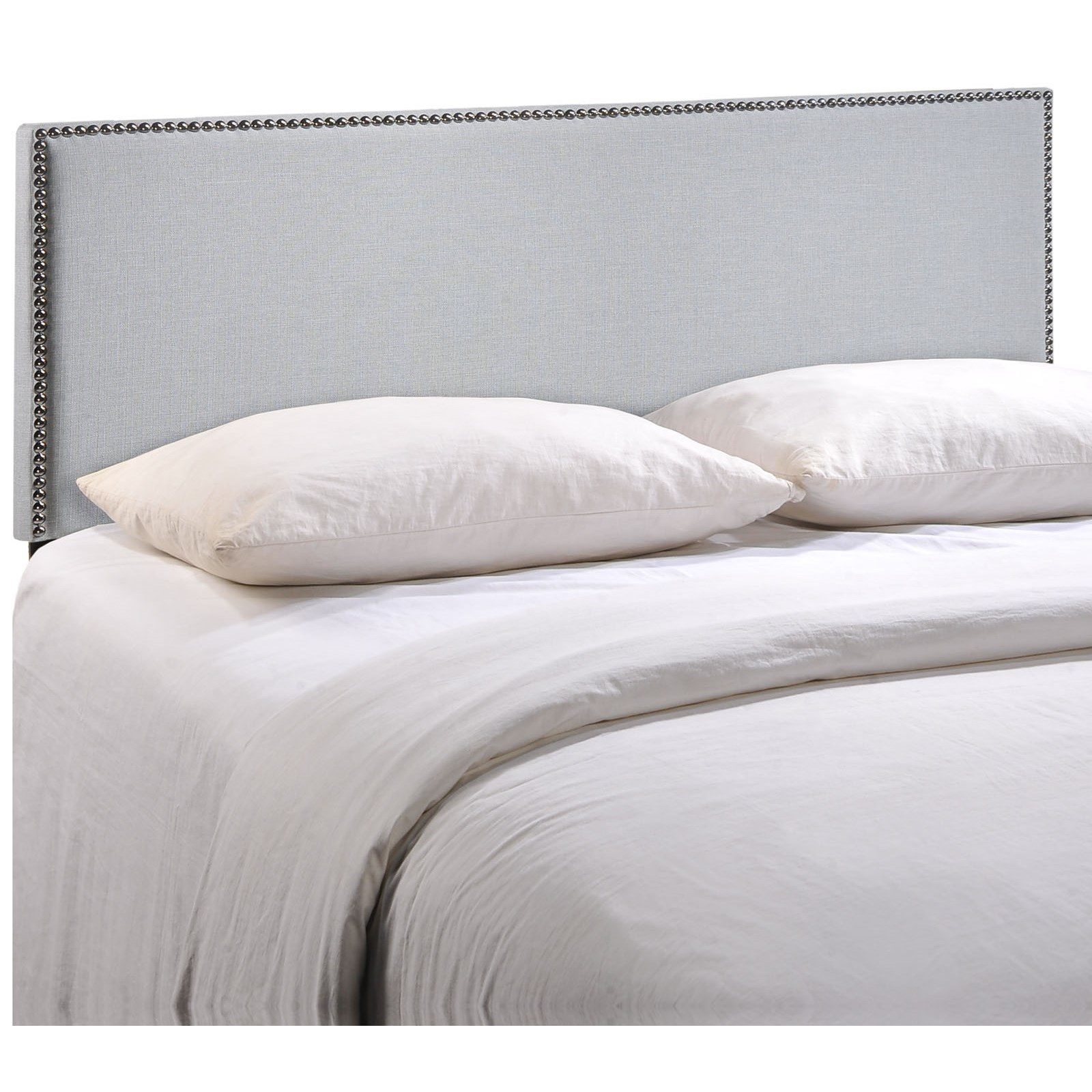 Region King Nailhead Upholstered Headboard by Modway at Value City Furniture