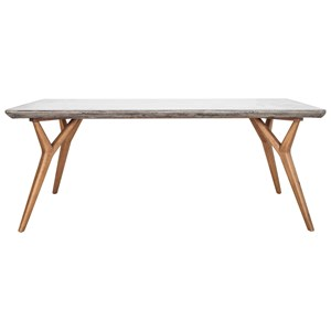 Mid-Century Modern Concrete Dining Table