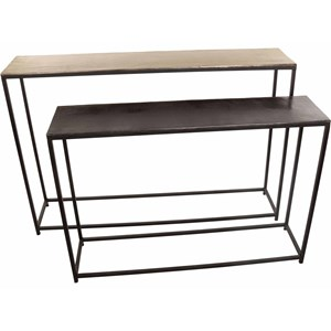 Metal Nesting Console Tables
