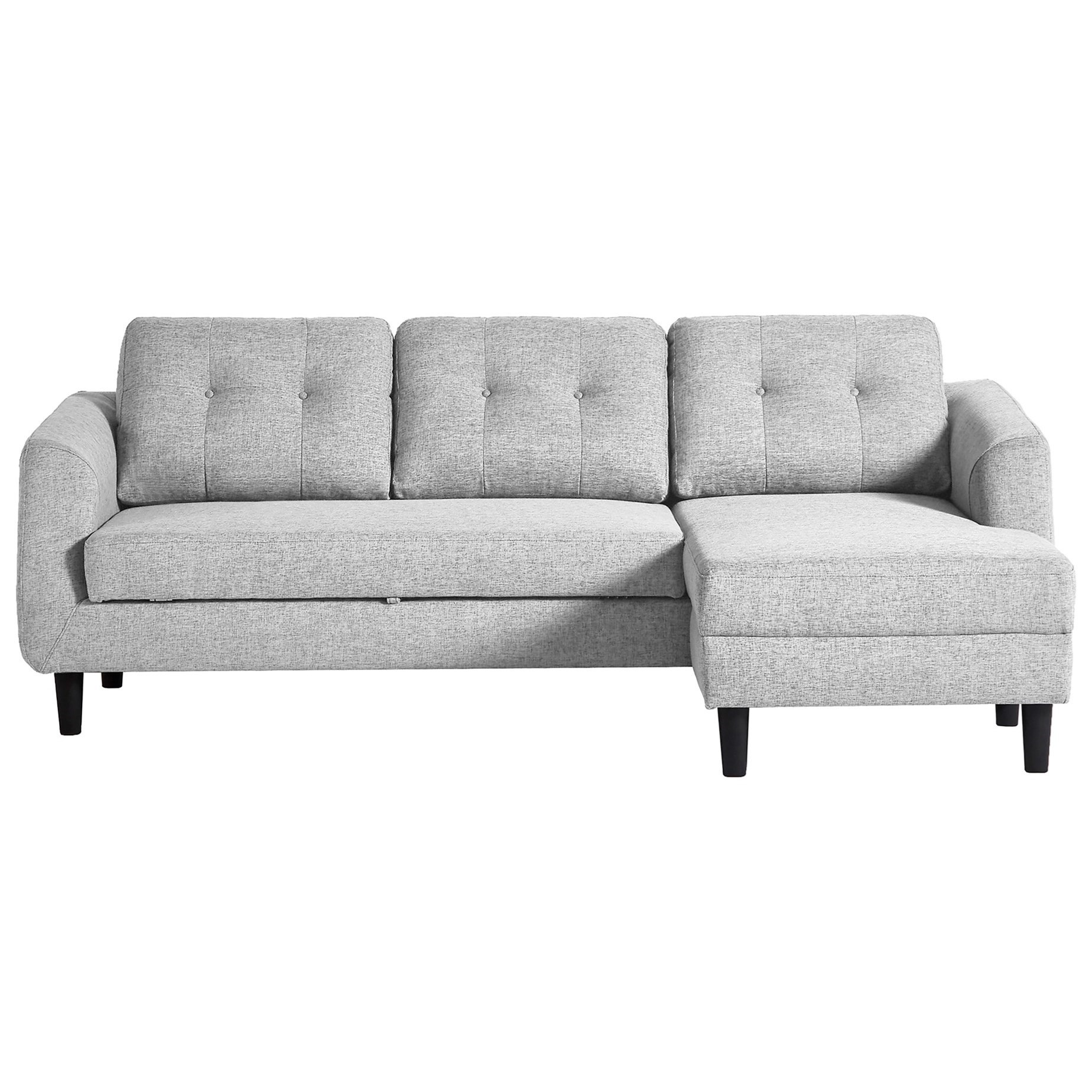 Belagio Sofa Bed with Chaise by Moe's Home Collection at Stoney Creek Furniture