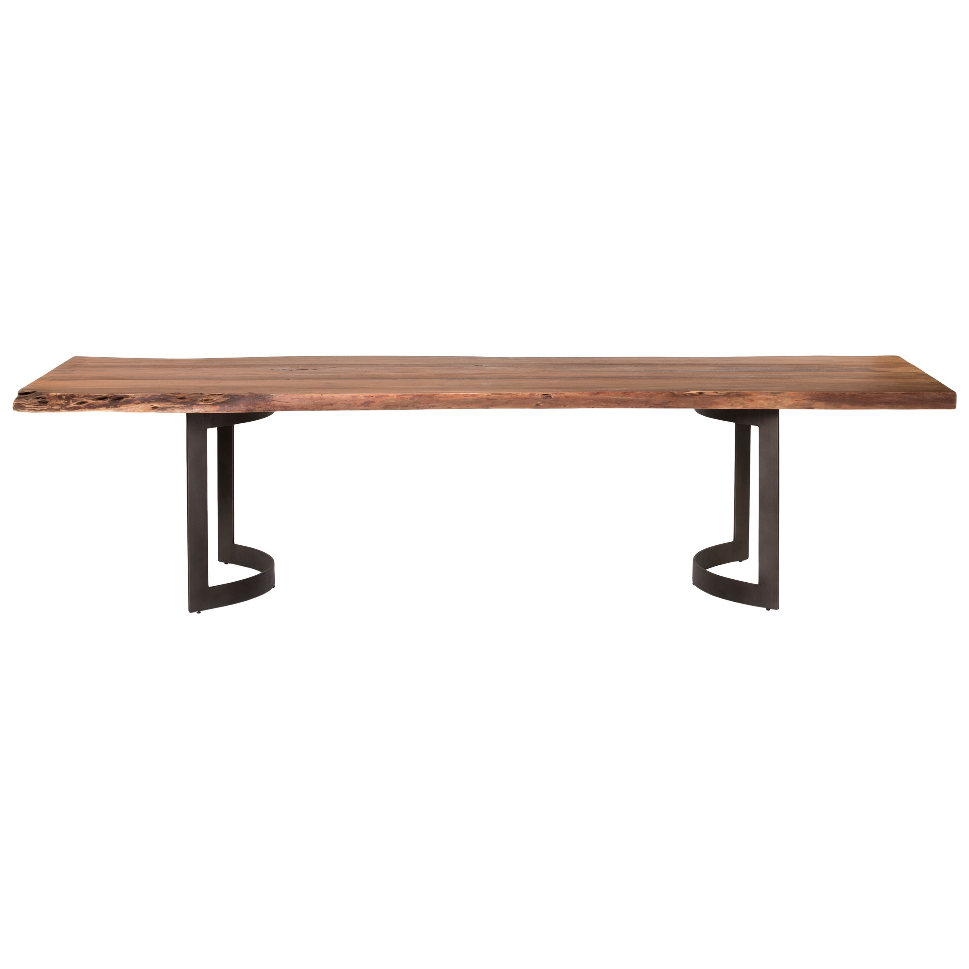 Bent  Dining Table Small Smoked by Moe's Home Collection at Stoney Creek Furniture
