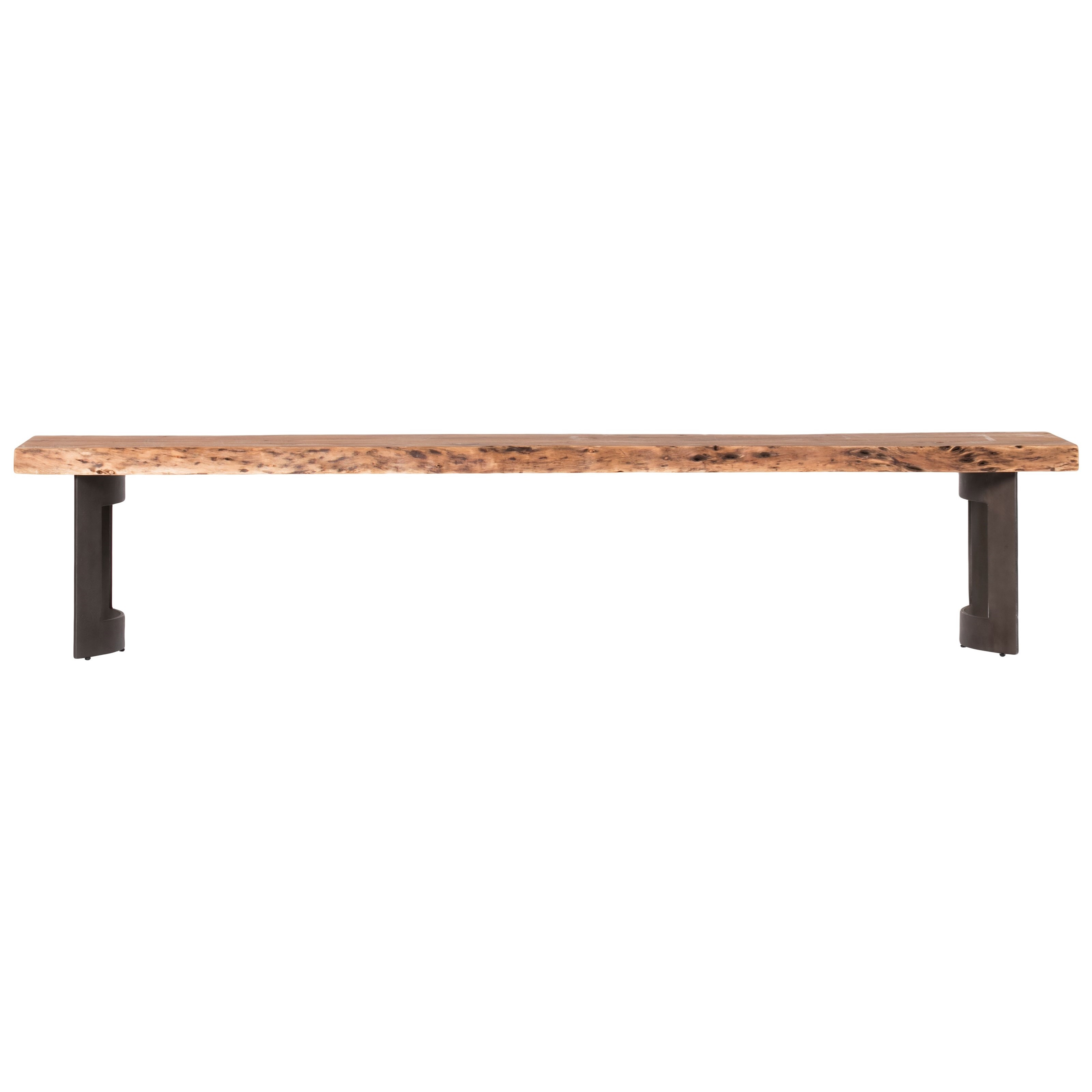 Bent  Bench Smoked   by Moe's Home Collection at Stoney Creek Furniture
