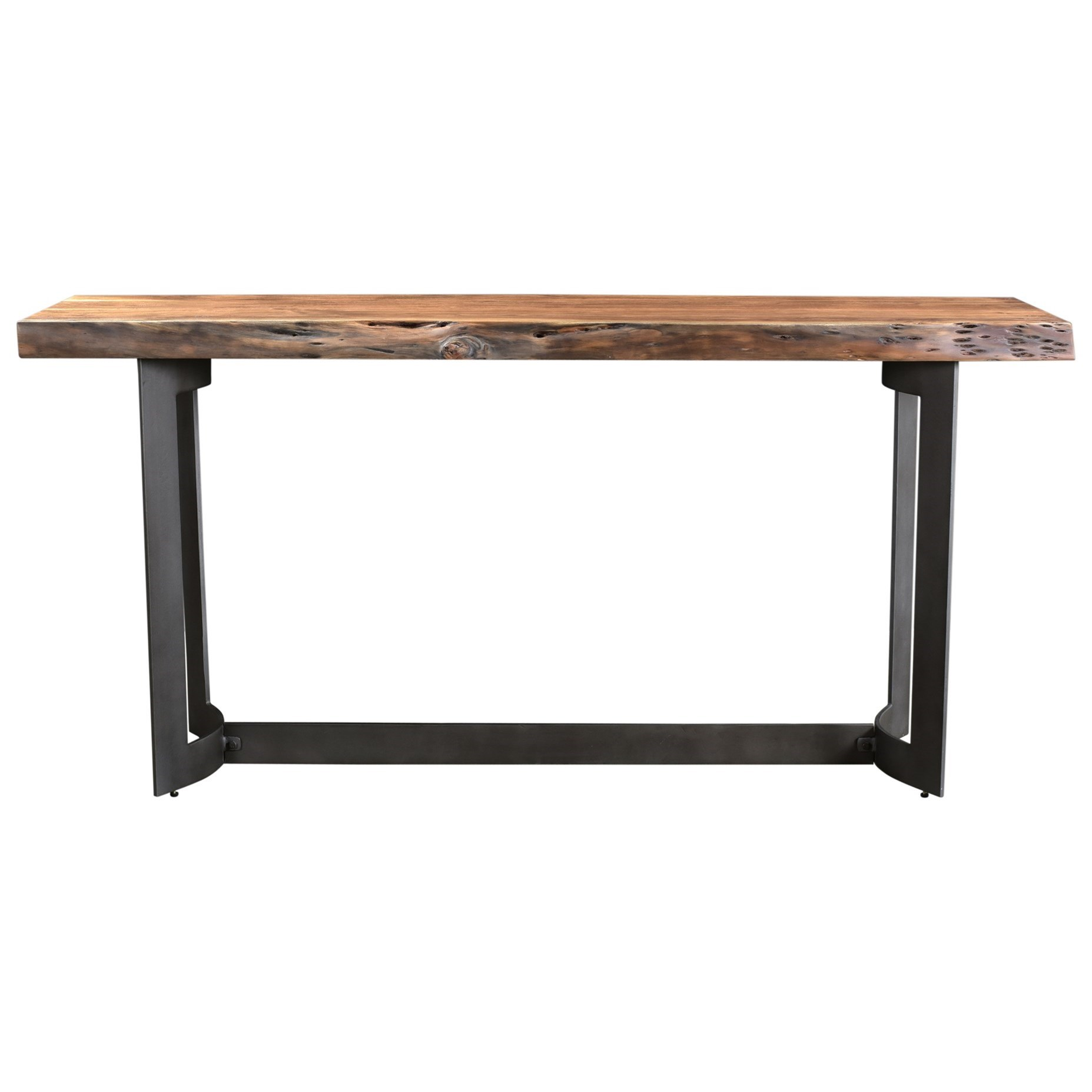 Bent Console Table Smoked by Moe's Home Collection at Stoney Creek Furniture
