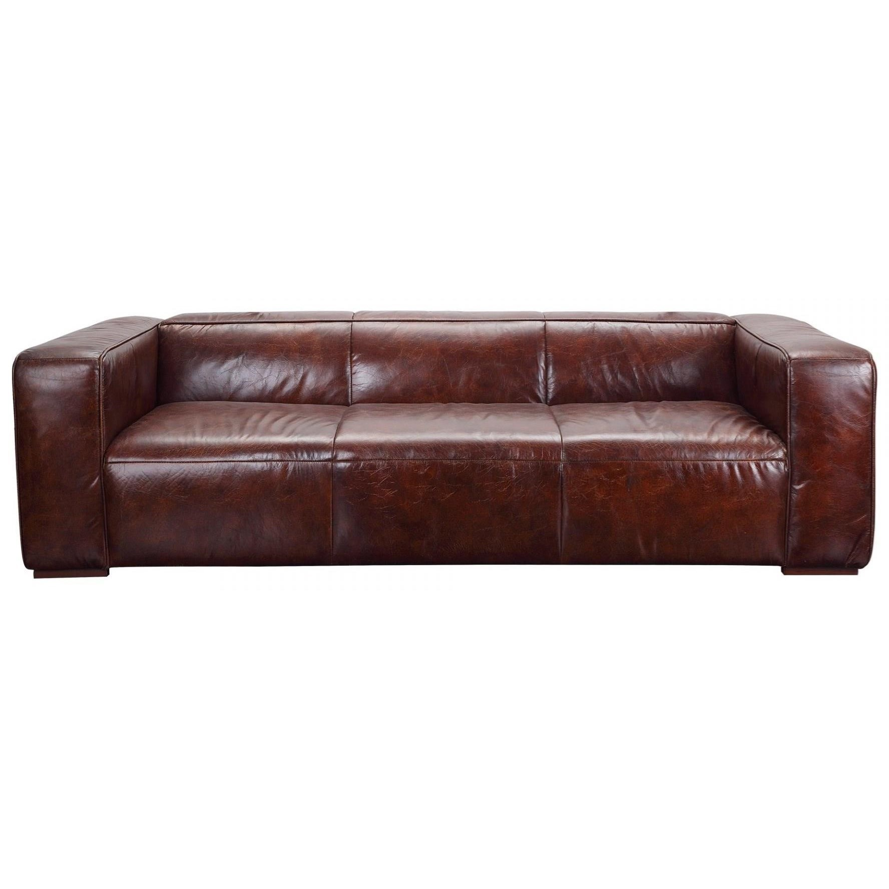 Bolton Top Grain Leather Sofa by Moe's Home Collection at Stoney Creek Furniture