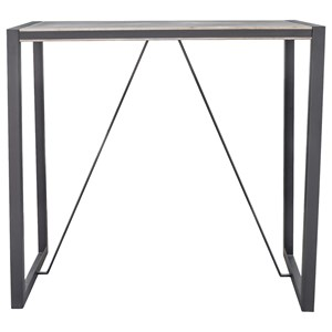 Industrial Trestle Bar Table