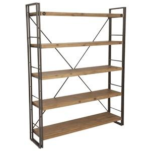 Metal Bookshelf Open Shelf
