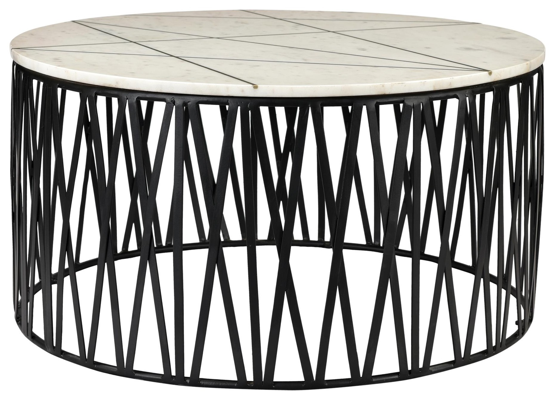 Calcutta Coffee Table at Bennett's Furniture and Mattresses