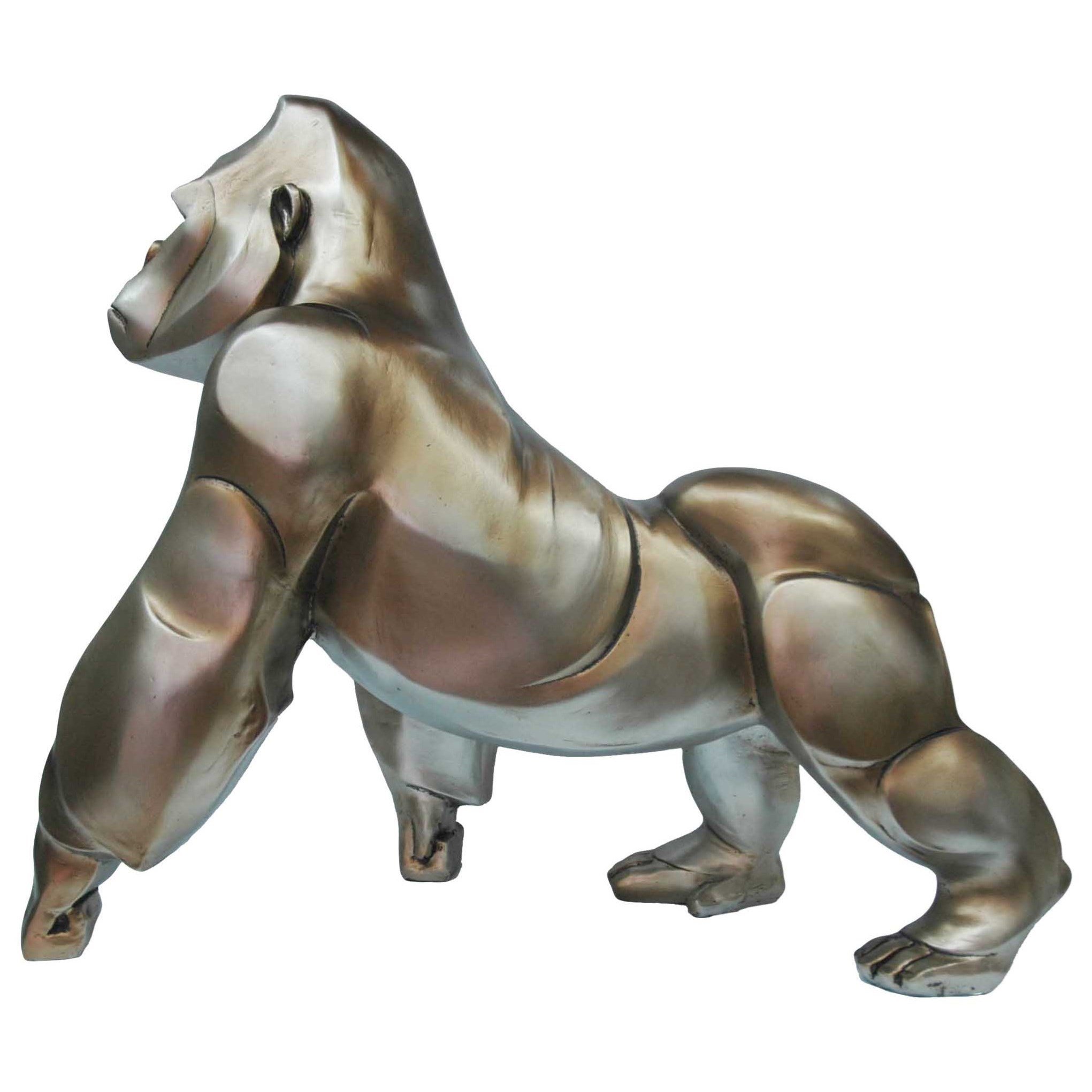 Sculptures Art Deco Gorilla Statue by Moe's Home Collection at Stoney Creek Furniture