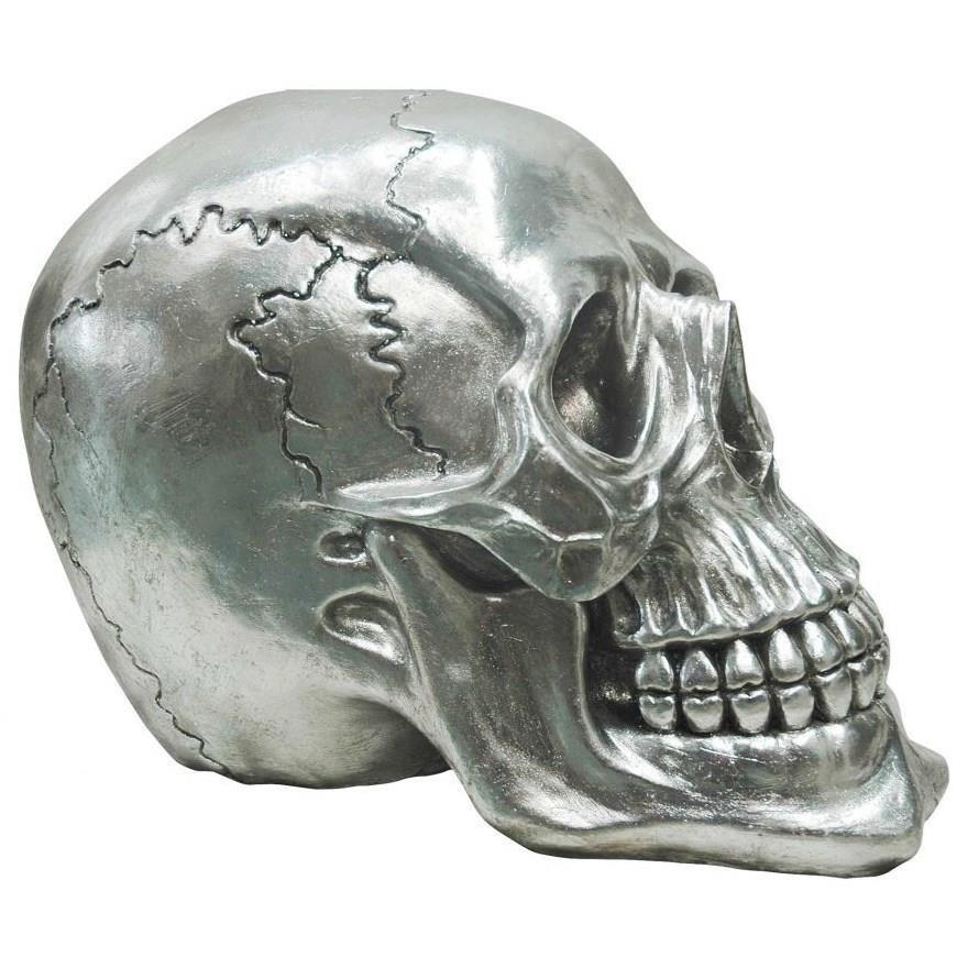 Sculptures Yorick Skull Gun Metal by Moe's Home Collection at Stoney Creek Furniture