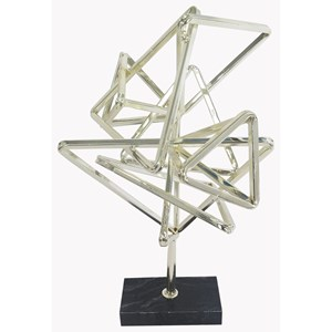 Geometry Table Top Décor Silver
