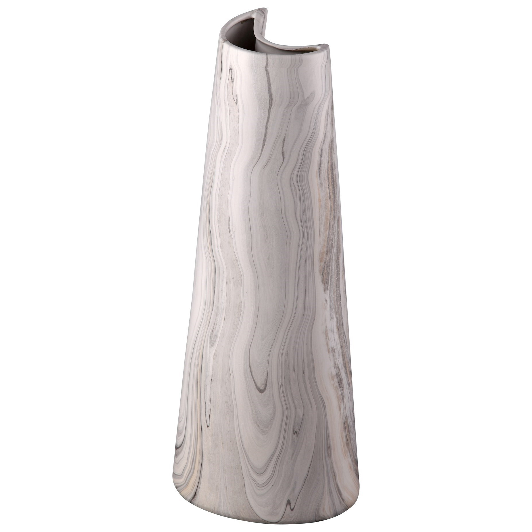 Vases & Urns Carrara Vase Crescent by Moe's Home Collection at Stoney Creek Furniture