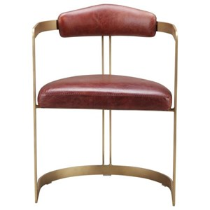 Downie Dining Chair with Iron Frame