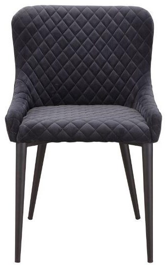 Etta Etta Dining Chair Dark Grey by Moe's Home Collection at Stoney Creek Furniture