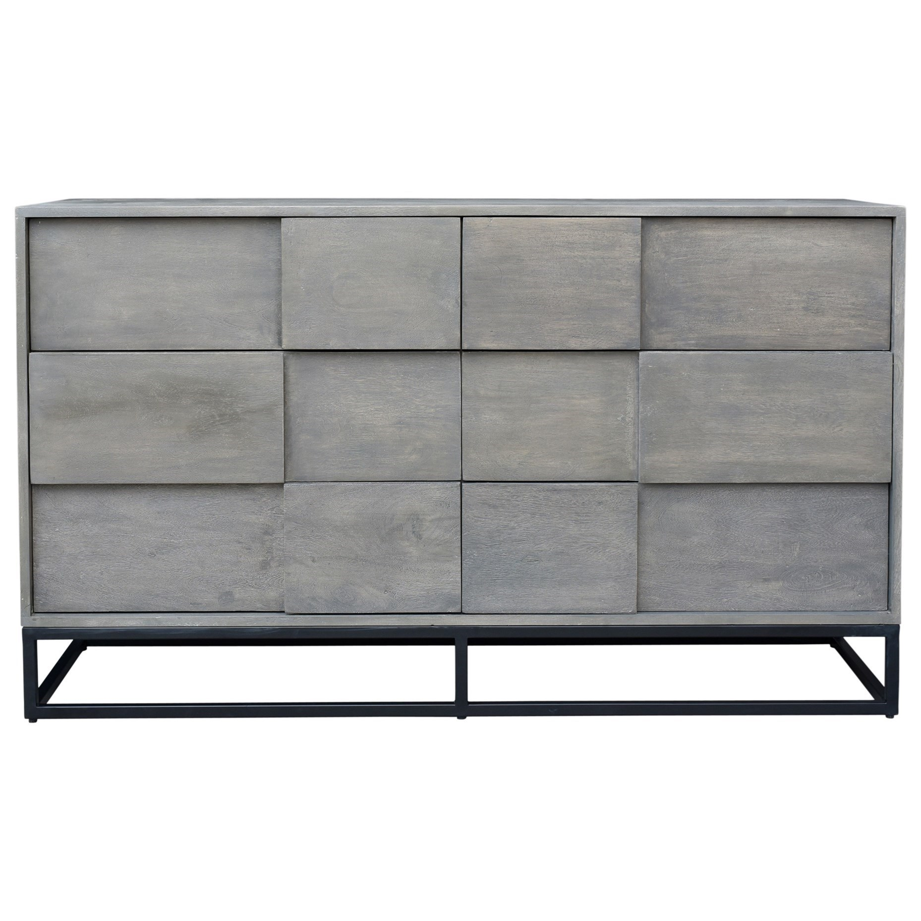 Felix 6 Drawer Dresser by Moe's Home Collection at Stoney Creek Furniture