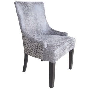 Transitional Set of 2 Dining Chairs