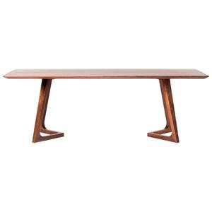 Mid-Century Modern Rectangular Dining Table