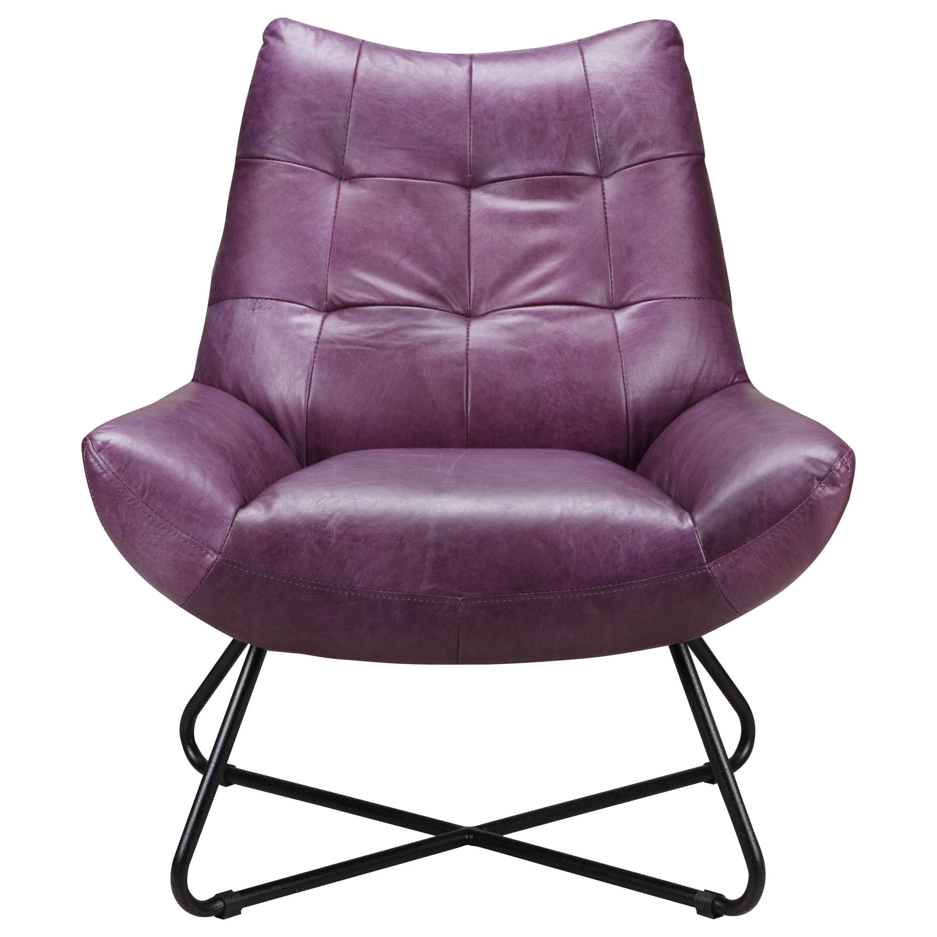 Graduate  Lounge Chair by Moe's Home Collection at Stoney Creek Furniture