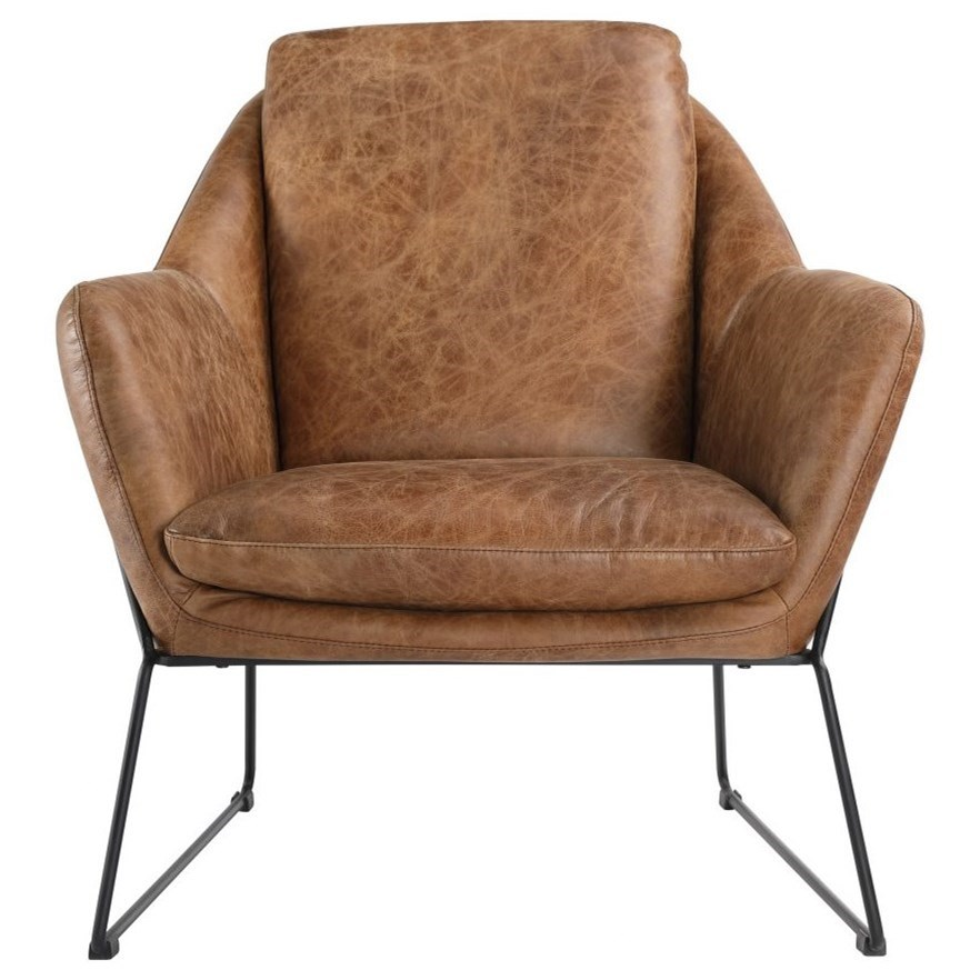 Greer Club Chair by Moe's Home Collection at Stoney Creek Furniture