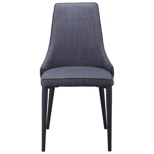 Transitional Upholstered Dining Side Chair