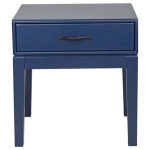 Electric Blue Side Table