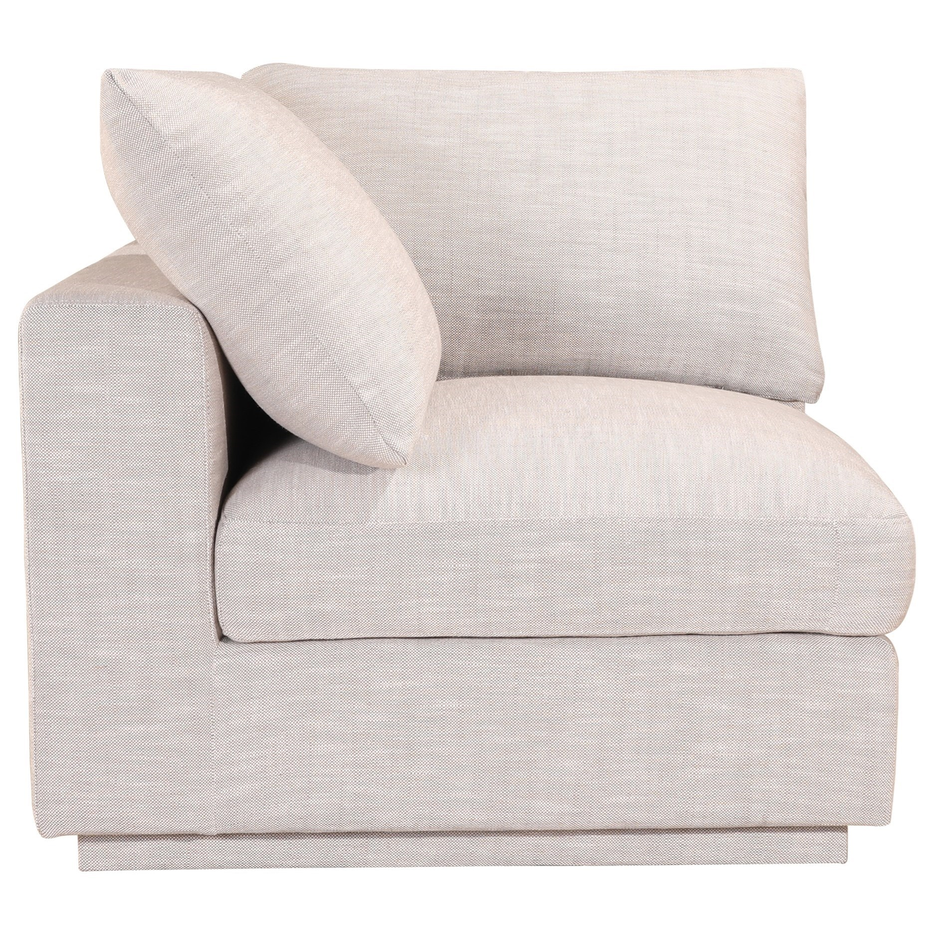 Justin Corner Chair by Moe's Home Collection at Fashion Furniture
