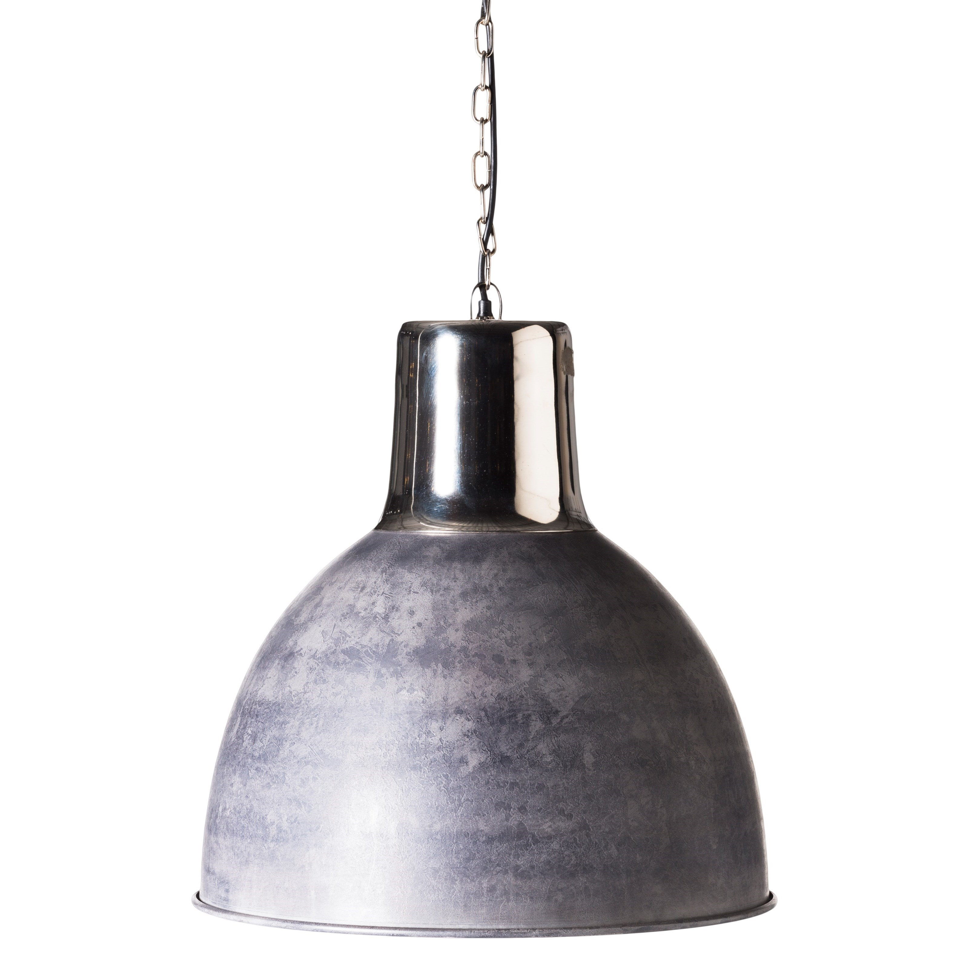 Lighting Nikos Pendant Lamp Silver by Moe's Home Collection at Stoney Creek Furniture