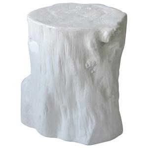 Ceramic Log Stool