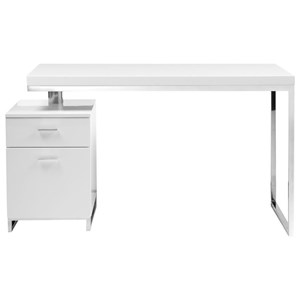 Contemporary Desk with 2 Drawers