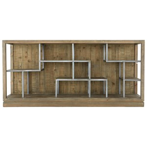 Contemporary Horizontal Display Shelf