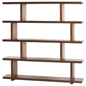 Open Shelf Designed Bookcase