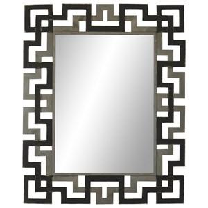 Apollo Mirror with Iron Frame