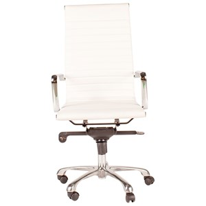 Contemporary Office Task Chair with High Back