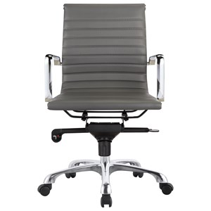 Contemporary Office Task Chair with Low Back