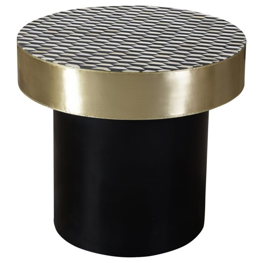 Optic Side Table by Moe's Home Collection at Stoney Creek Furniture