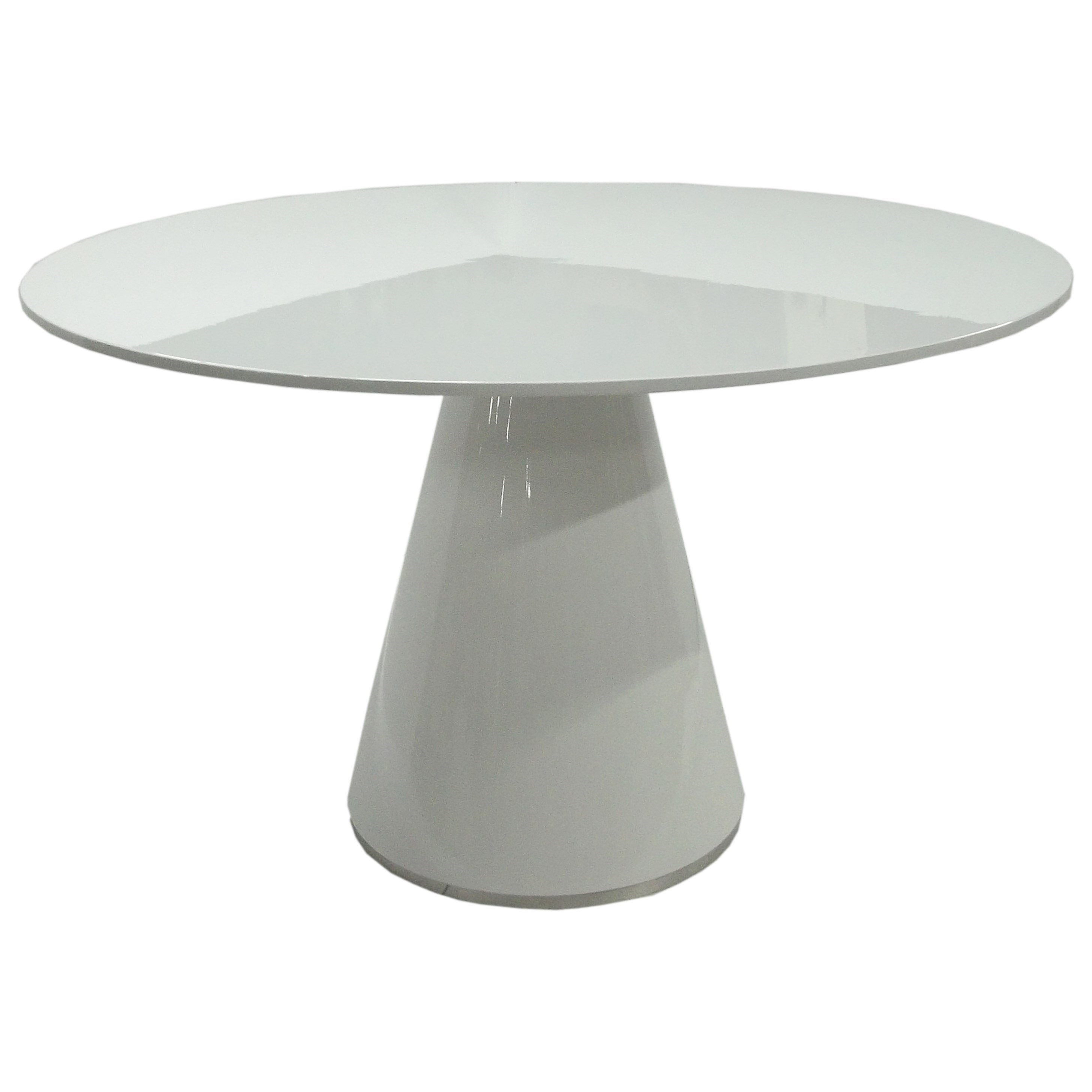 Otago Dining Table Round at Sadler's Home Furnishings
