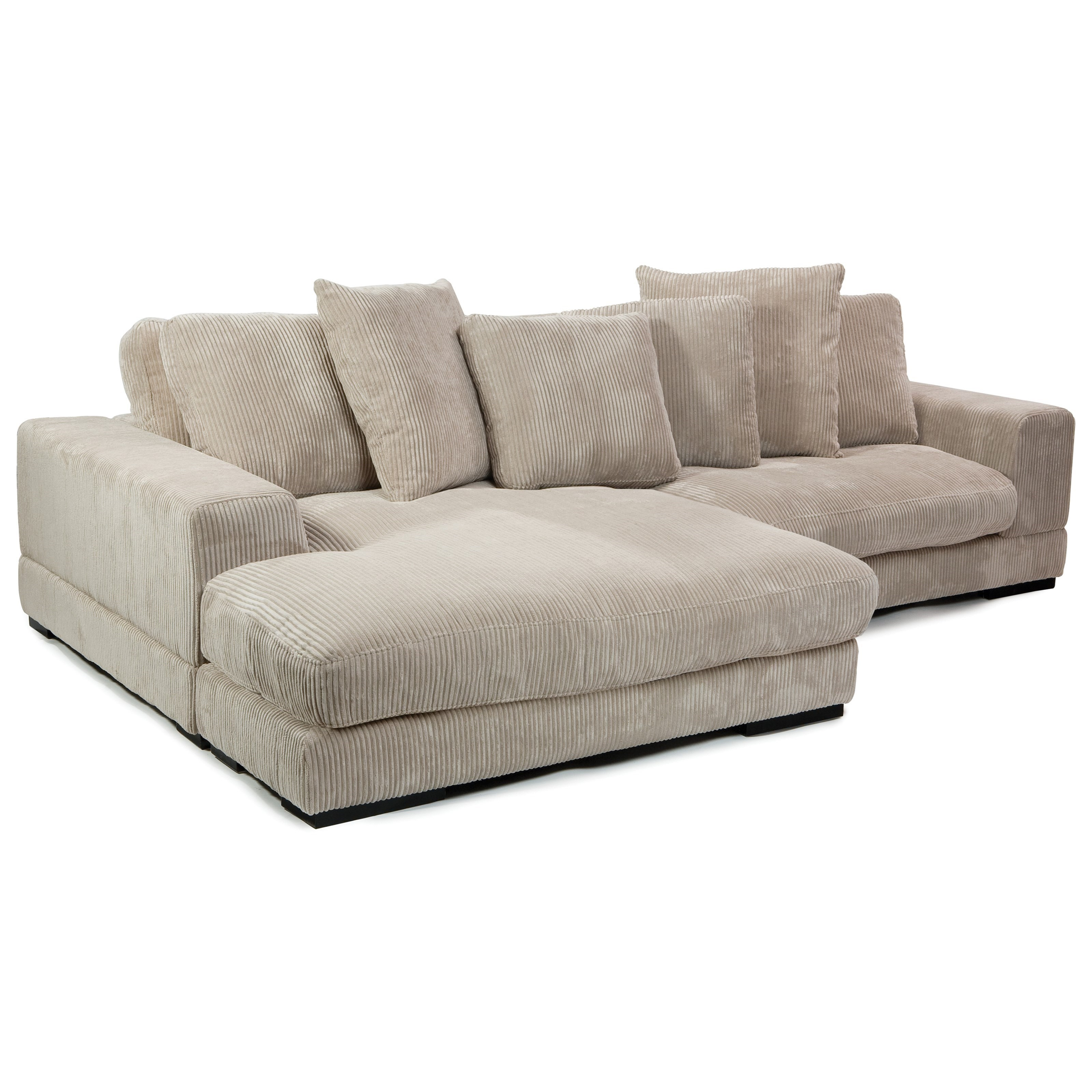 Plunge Sectional by Moe's Home Collection at Stoney Creek Furniture