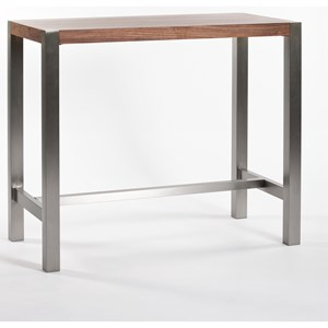Contemporary Bar Height Table