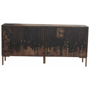 Artist's Sideboard with Antiqued Finish
