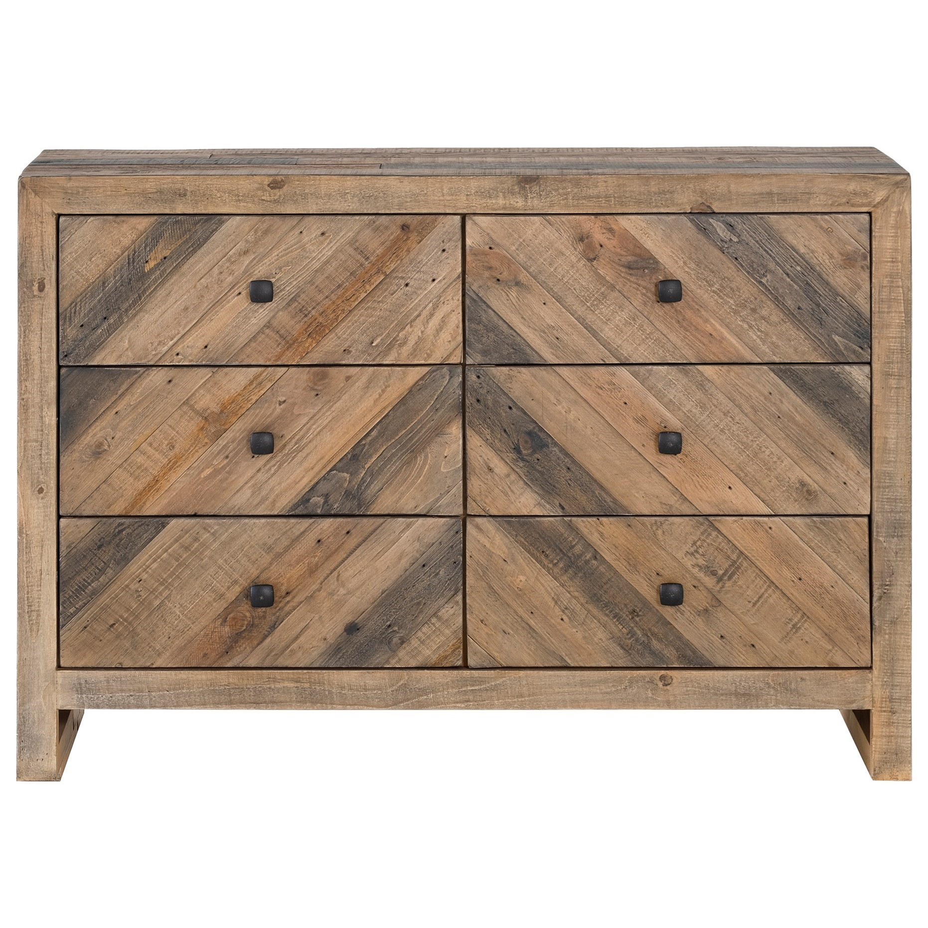 Teigen 6 Drawer Dresser by Moe's Home Collection at Stoney Creek Furniture