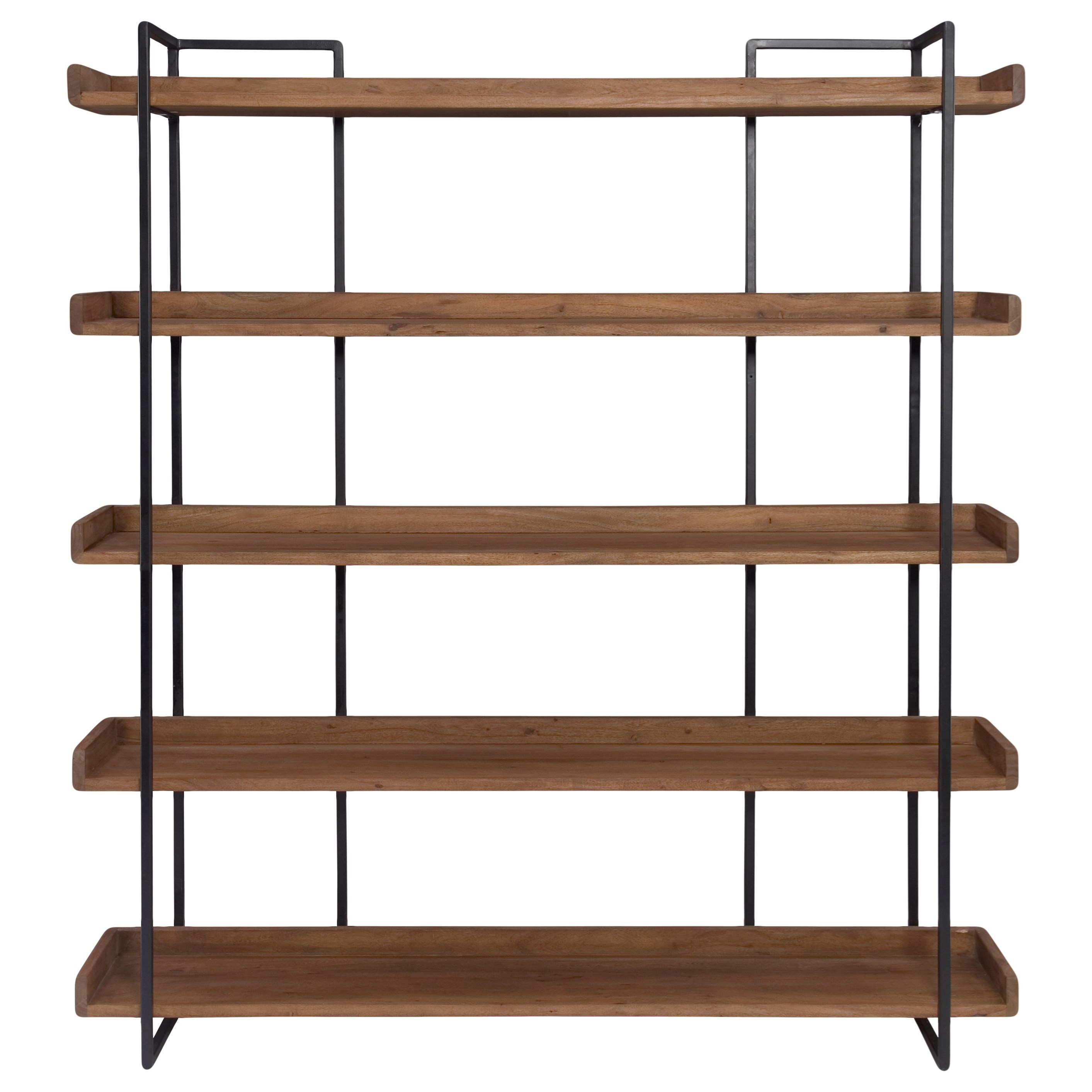 Vancouver Large Bookshelf by Moe's Home Collection at Stoney Creek Furniture