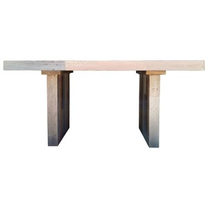 Modern-Rustic Small Dining Table