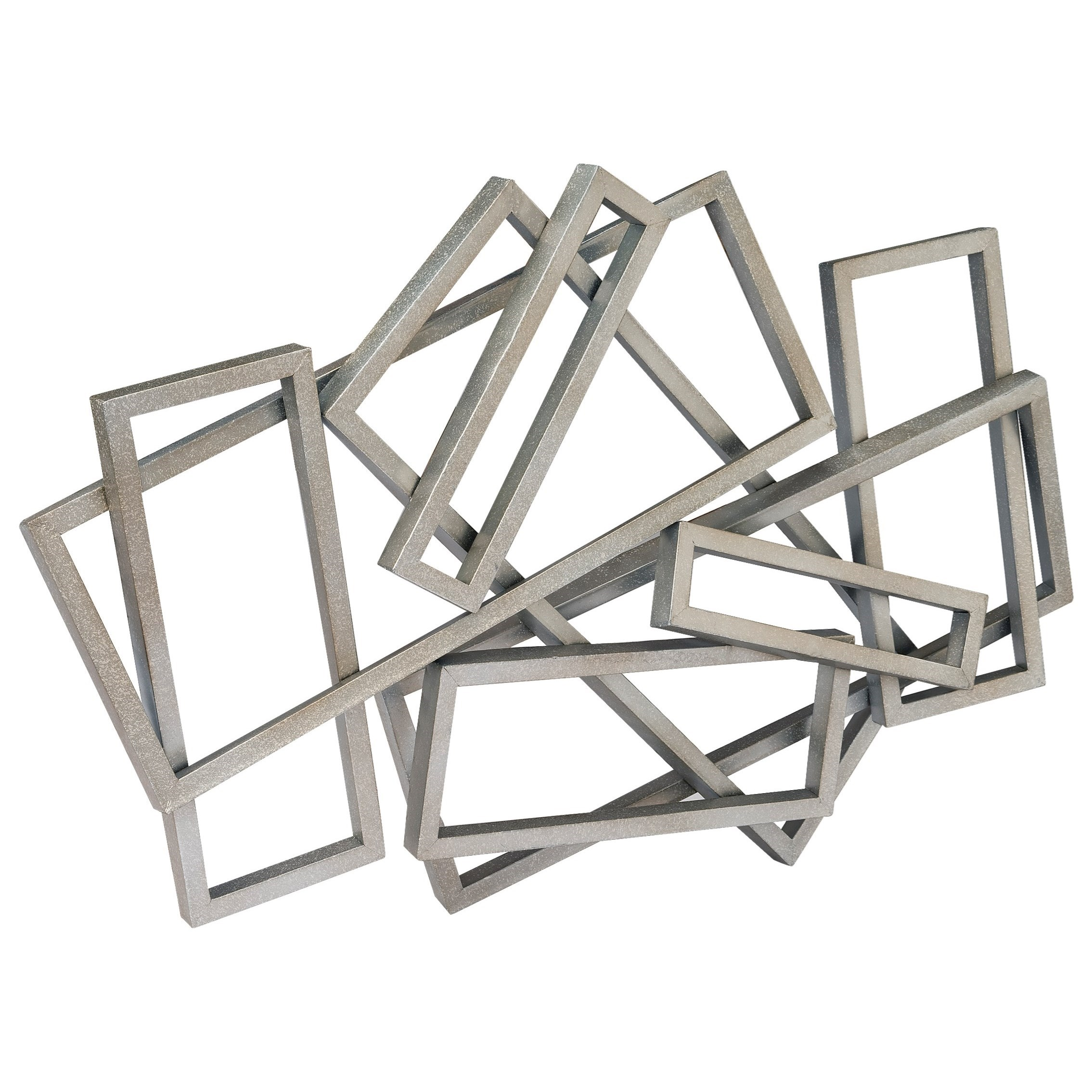 Wall Décor Metal Rectangles Wall Decor by Moe's Home Collection at Wilson's Furniture