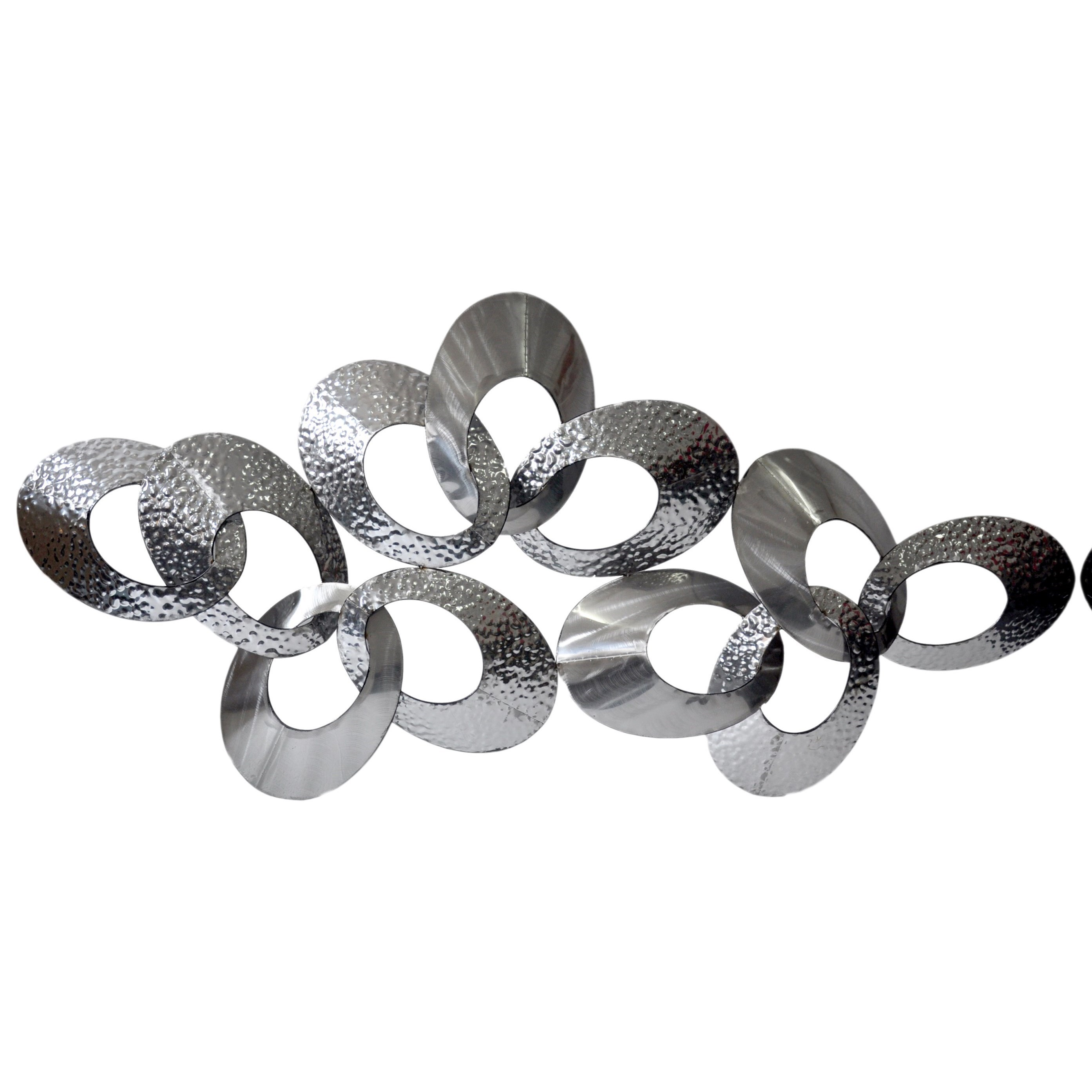 Wall Décor Looped Metal Wall Decor Large by Moe's Home Collection at Stoney Creek Furniture