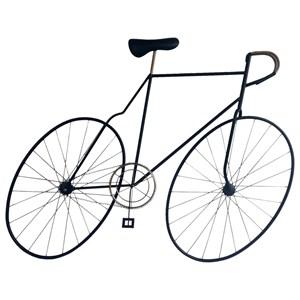 Mcmillan Bicycle Wall Art Black