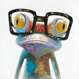 Smart Frog Wall Decor