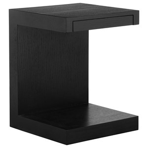 Contemporary Side Table with Drawer