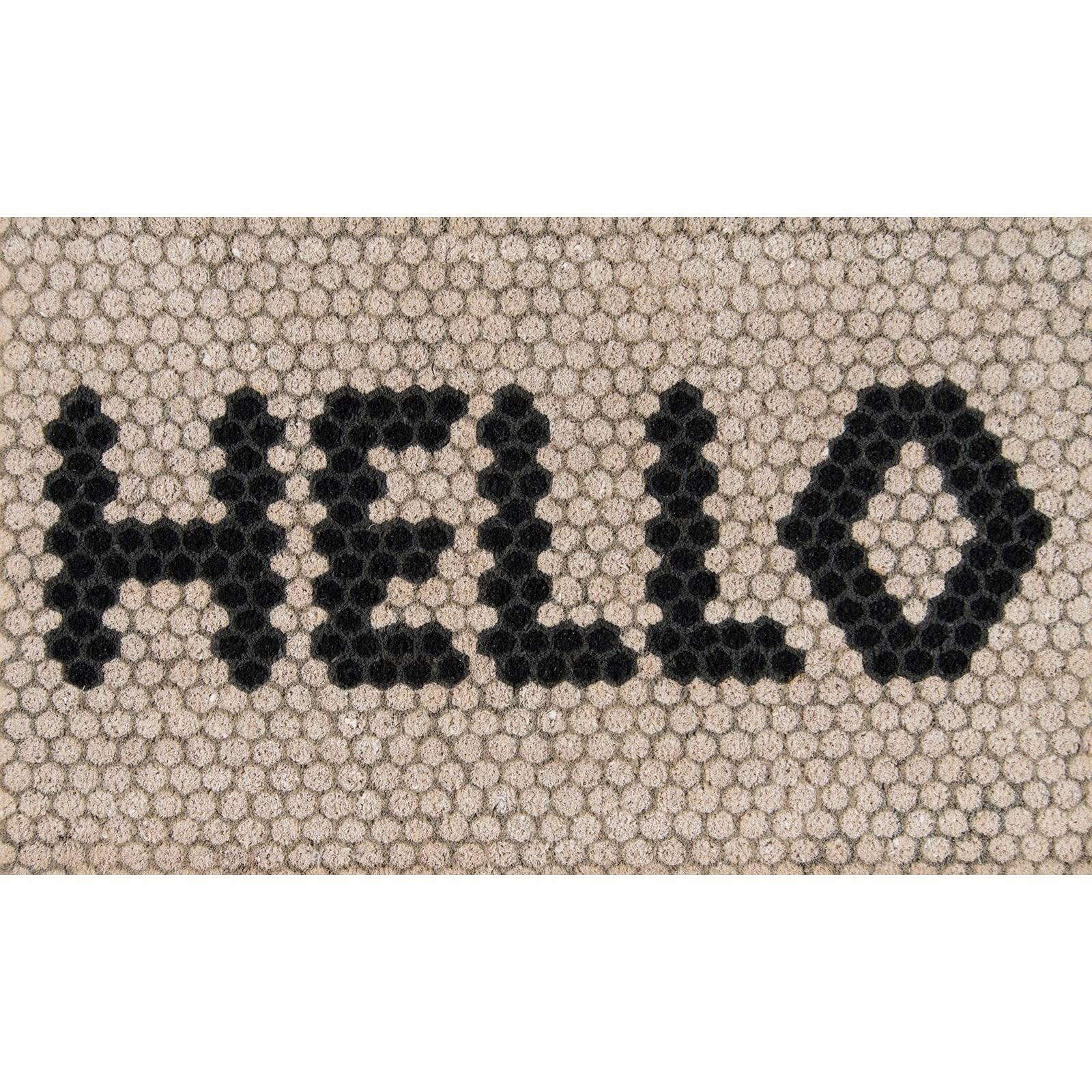 """Novogratz Aloha Hello Hex Tile 1'6"""" x 2'6"""" Rug by Momeni at Belfort Furniture"""
